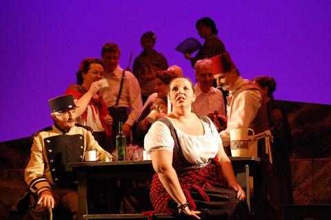Photo of scene from Carmen by Bizet