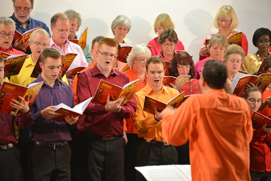 Photo of choir